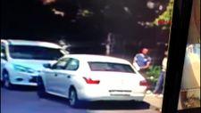 Küçükçekmece'deki hırsız, kolundaki alçıyla araç camını kırdı
