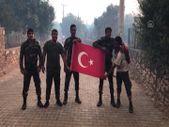 Marmaris'te Azerbaycanlı itfaiyecilerin Türk bayrağı duyarlılığı