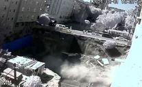Bağcılar'da inşaatın temel duvarı çöktü
