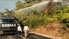 EGM'nin TOMA'ları yangınlara müdahale ediyor