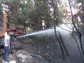 İzmir'de söndürme çalışmalarında halk ekiplere destek oldu