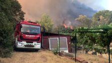 Marmaris'te evi yanmaktan kurtulan vatandaş, yaşadıklarını anlattı