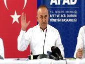Mevlüt Çavuşoğlu: Antalya'da 14 noktadaki yangın kontrol altına alındı