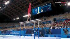 Milli cimnastikçimiz Ferhat Arıcan bronz madalya kazandı