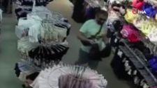 Şişli'de girdiği mağazada çalışanları soyup, kaçtı