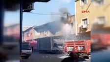 Sultangazi'de elektrik kablolarında patlama