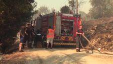 Antalya'da 'alev savaşçıları' yangını söndürmekte kararlı