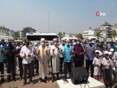 Manavgat'taki yangınların durması için yağmur duası yapıldı