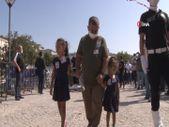Şehit polis memuru İbrahim Okçu'ya kızlarından son bakış