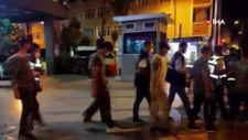 Zeytinburnu'nda askeri kamuflajlı 9 kaçak göçmen yakalandı