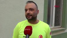 Gurbetçi itfaiyeci, Almanya'dan Antalya'ya gelerek gönüllü oldu