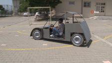 Liseli gençler az enerjili, uzun menzilli otomobil tasarladı