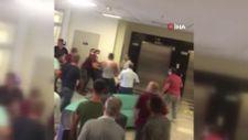 Şanlıurfa'da hasta yakınlarından güvenlik görevlilerine darp