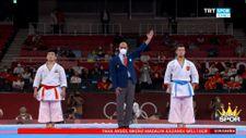 Ali Sofuoğlu'nun bronz madalya kazandığı an