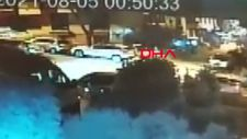 Ankara'da 'Dur' ihtarına uymayan sürücü, bekçiye otomobille çarpıp kaçtı