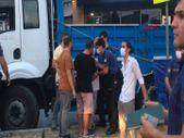 Bağcılar'da pazardan dönen yaşlı kadın kamyonun altında kaldı