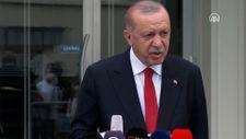 Cumhurbaşkanı Erdoğan: Yangın mahalline görevli olmayanlar kesinlikle alınmayacak