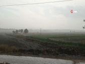 Edirne'de ceviz büyüklüğünde dolu yağdı