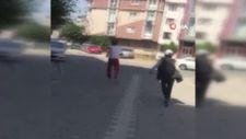 Esenyurt'ta esnaf, hırsızları metrelerce böyle kovaladı