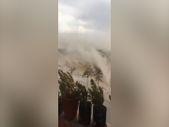 Gaziantep'te kum fırtınası