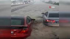 Ankara'da sağanak sonrası sel