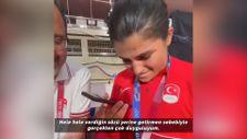Cumhurbaşkanı Erdoğan, Busenaz Sürmeneli'yi tebrik etti
