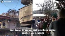 Leyla Bilginel Manavgat'ta devletten yardım alan vatandaşları azarladı