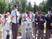 Erenköy Direnişinin 57. yılında şehit pilot yüzbaşı Cengiz Topel mezarı başında anıldı