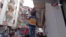 Iğdır'da bir şahıs, 5'inci kattaki evinin balkonundan yan binanın üzerine düştü