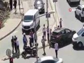Esenyurt'ta kaza yapan sürücülerin kavgası