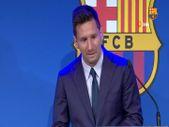 Lionel Messi gözyaşlarıyla veda etti
