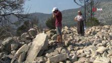 Antalya'da akrabalarına yardım ederken kendi evini yangında kaybetti