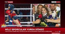 Buse Naz Çakıroğlu: Hedefim bu madalyanın rengini altına çevirmek