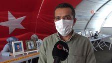 Evlat nöbetindeki babadan, PKK'ya 'orman yangınları' tepkisi