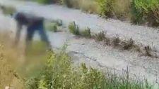 İtalya'da yangın çıkaran kundakçı, kameraya yakalandı