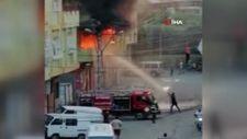 Adana'da şalgam imalathanesinde yangın