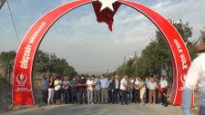 Saruhanlı'da Ay Yıldızlı Giriş Takı hizmete açıldı