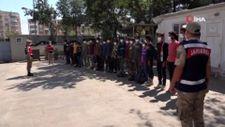 Siverek'te 22 göçmen yakalandı