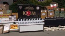 İstanbul'da 6 buçuk milyon değerinde kaçak eşya ele geçirildi