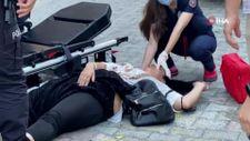 İstanbul'da tartıştığı sevgilisini sokak ortasında bıçakladı