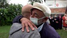 İtalya'da sınır dışı edilen baba, 36 yıl sonra oğluna kavuştu