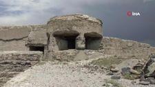Kars'a 271 yıllık tabyanın betonlarını kestiler