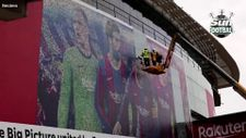Lionel Messi'nin posterleri söküldü