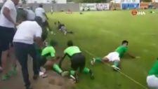 Meksika'da amatör futbol maçında silahlı saldırı