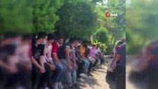 Beyoğlu'nda kaçak göçmen operasyonu