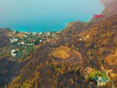 Bodrum ve Milas'ta yanan alanlar drone ile havadan görüntülendi