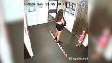 İngiltere'de katil annenin kızı ile son görüntüleri