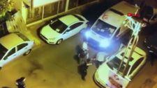 Çekmeköy'de yaşanan silahlı çatışma güvenlik kamerasında