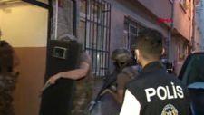 İstanbul'da 8 ilçede eş zamanlı uyuşturucu operasyonu