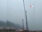 Kastamonu'da baz istasyonu sel nedeniyle çöktü